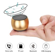 Original Bluetooth Speaker Portable mini Wireless Bluetooth Speaker Hands free Music round Box Loudspeaker for Smart Phone nakamichi bt06s series round bluetooth speaker retail packaging