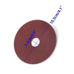 """Image 4 - * 10,5*3,2*22mm papel de lija para pulido de disco de la rueda para afilador de motosierra de paso de 325 de 3/8 """"de la cadena"""