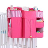 Baby Crib Organizer Bed Hanging Bag for Baby Essentials Multipurpose Diaper Storage Bag Cradle Bag Bedding Set Baby Supplies