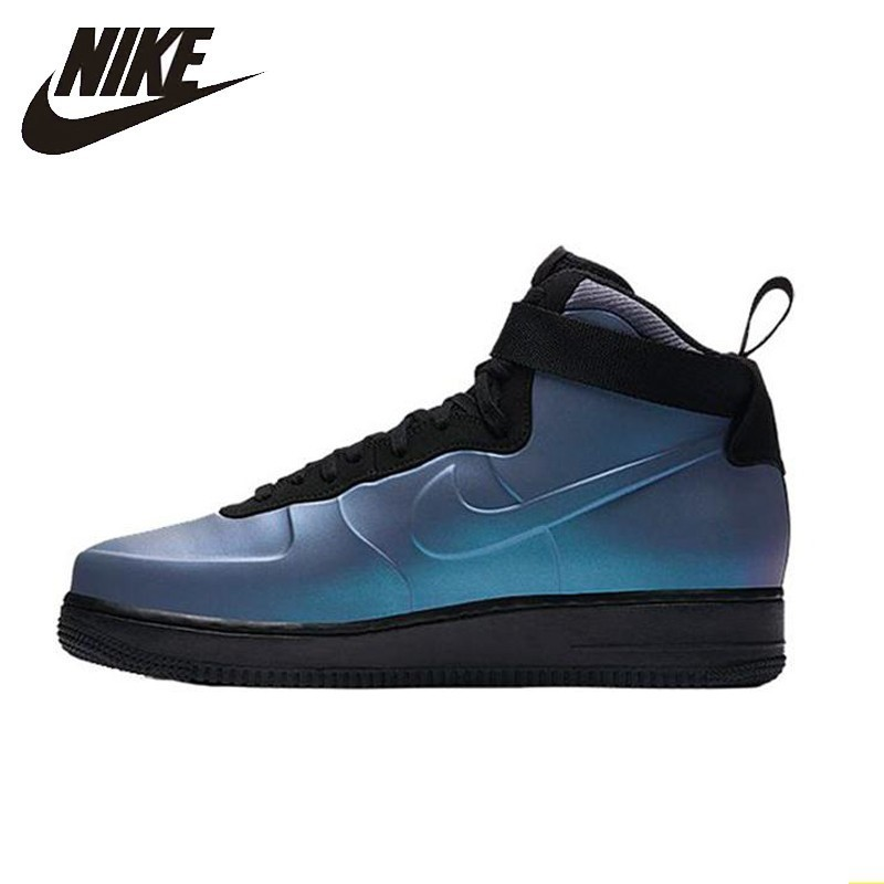 Nike Air Force 1 Foamposite Cup AF1 Men Skateboarding Shoes New Arrival High Help Anti Slippery Comfortable Sneakers #AH6771 002