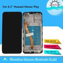 "Original M & Sen 6.3 ""สำหรับ Huawei Honor Play COR L29 หน้าจอ LCD + แผง Digitizer กรอบสำหรับ COR AL00 COR TL10"