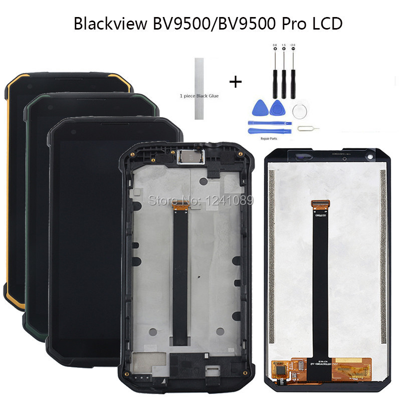 For Blackview BV9500 LCD Touch Screen 5.7 inch 100% Tested Screen Digitizer Assembly with Frame Replacement For BV9500 Pro LCDFor Blackview BV9500 LCD Touch Screen 5.7 inch 100% Tested Screen Digitizer Assembly with Frame Replacement For BV9500 Pro LCD
