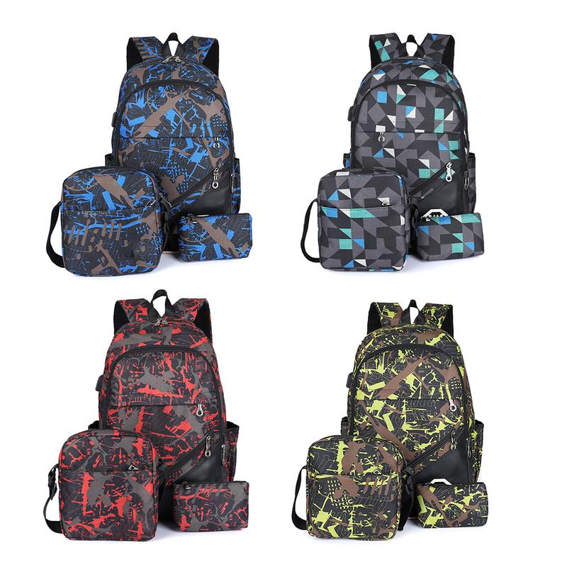 Backpack Fashionable Bag Backpack Leisure Bag For Boys At Middle School Junior High School High School College