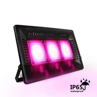 CLAITE 150W Full Spectrum LED Grow Flood Lights Waterproof IP65 Thunder Protection LED Plant Grow Light AC 220 240V