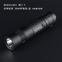 Convoy S11 XHP50.2 3A Output Brightness LED Flashlight Powerful Outdoor Tactical Flashlight Mini Torch EDC 18650 Flashlight