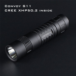 Linterna LED de brillo de salida 3 A, linterna táctica al aire libre potente, Mini linterna EDC 18650