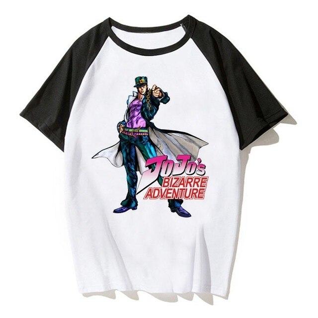 Jojos Bizarre Adventure T Shirt Anime Tshirt Joseph Joestar Japanes Anime Shirt  T-shirts Men Cool Tee Shirt Funny Tshirt 5