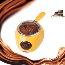 """Шоколадные конфеты плавильный горшок Электрический Шоколадный фонтан фондю Шоколад расплава горшок машина для топки кухонный инструмент """"сделай сам"""" подарок"""