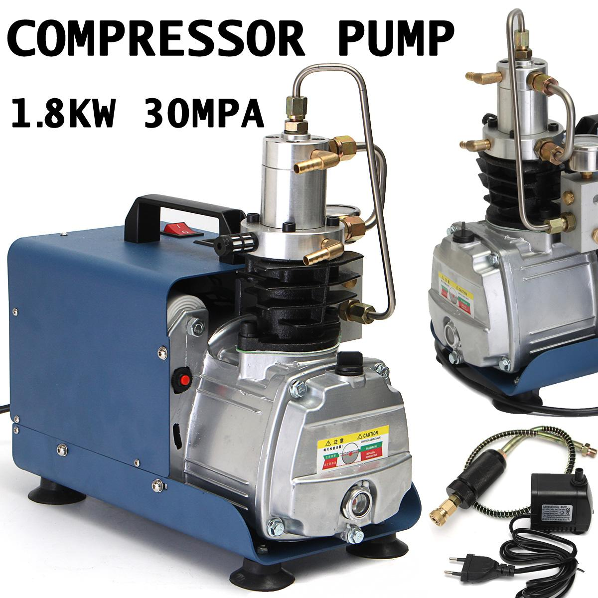 220 V 300BAR 30MPA 4500PSI EU Plug haute pression pompe à Air électrique PCP compresseur d'air