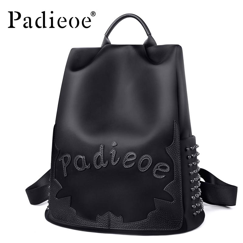 Padieoe mini backpack bags for women backpack waterproof school bookbag nylon Retro fashion travel luxuryPadieoe mini backpack bags for women backpack waterproof school bookbag nylon Retro fashion travel luxury