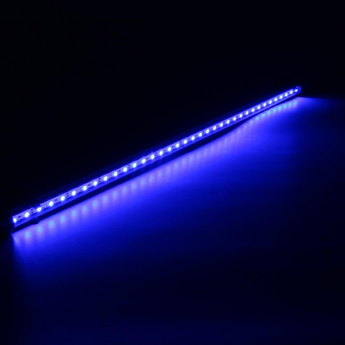 Smuxi 62CM RGB LED Aquarium Fish Tank Light for 70 80CM Fish Tank Bar Submersible Plant Grow Lamp IP68 AcrylicWaterproof 110V|LED Underwater Lights| |  - title=
