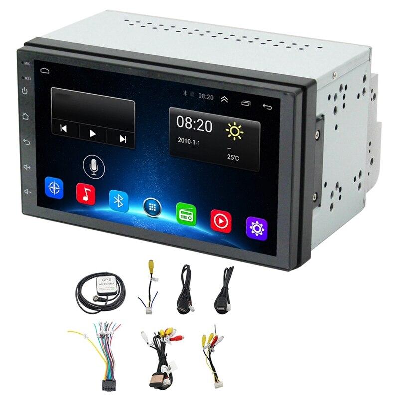 2Din Android 8.1 universel Navigation de voiture navigateur de voiture Mp5 Navigation de voiture Dvd une Machine