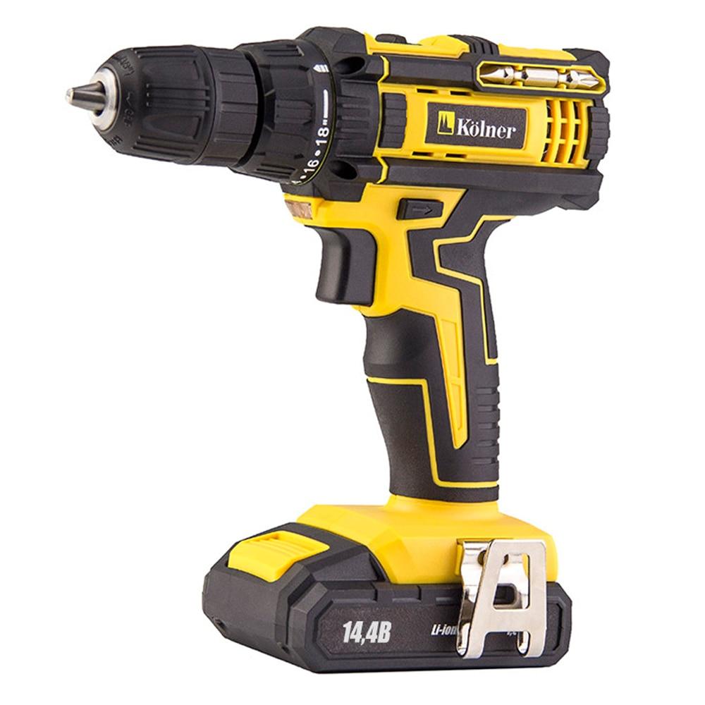 Drill Kolner KCD battery 144 V 2L