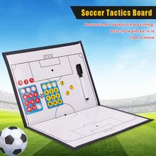 Soccer Board 16.5in X 11 Inch Coaches Clipboard For Sports Football Game Gym Drawing Lineup Scorebook Coach Board Training soccer coaching board strategy tactics clipboard football game match training plan accessories