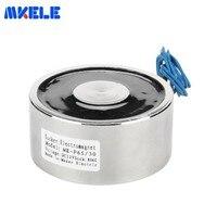 DC 6v 12V 24V Mkp65/30 Miniature Electromagnet Coil Lifting 80kg/800n Industrial Electric Lifting Magnet