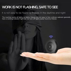 Image 2 - Micro Camera Night Version  Camera With Motion Sensor Camcorder Voice Video Recorder Small Camera—Black