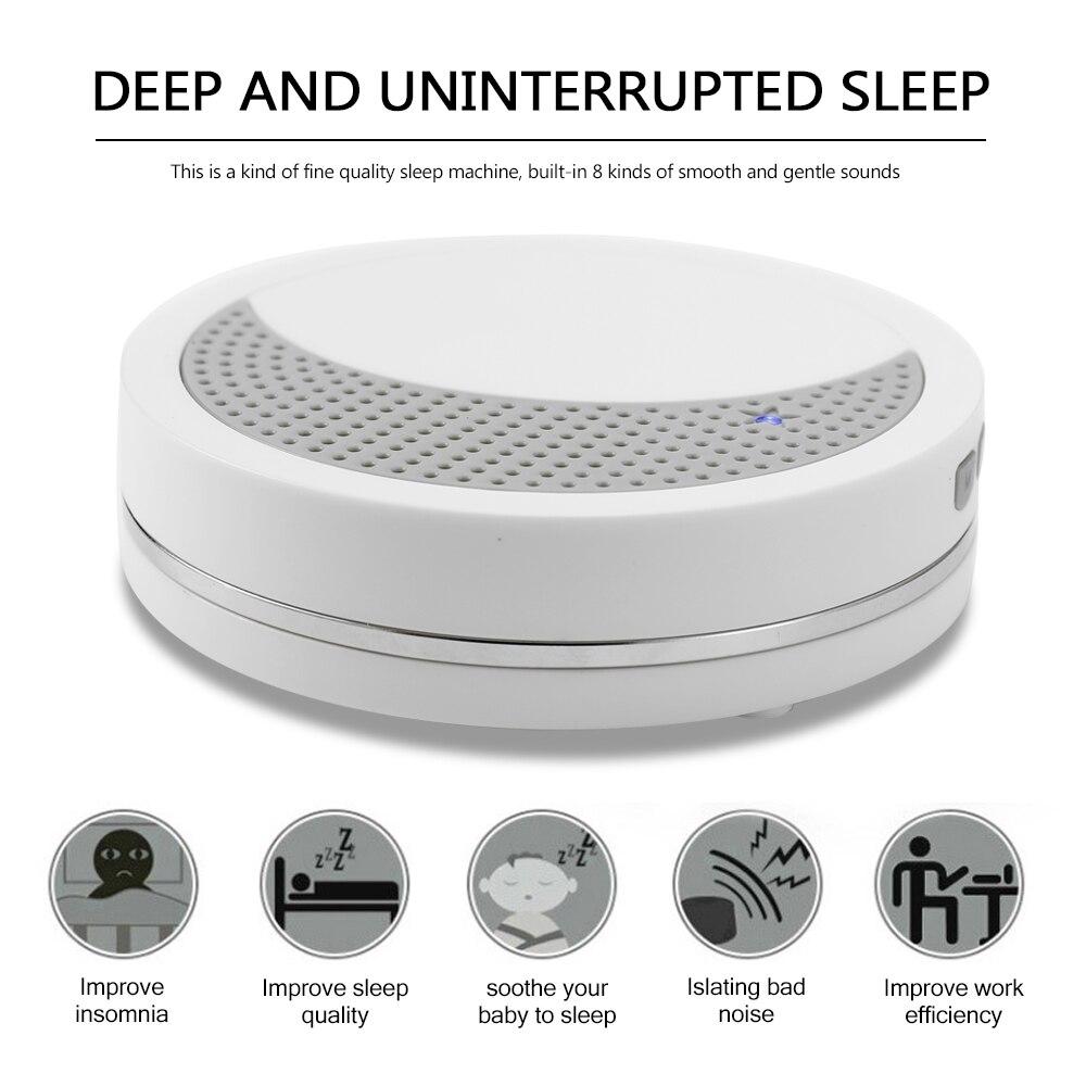 Machine Sleep Quality Enhancer Sleep Machine Sounds Optional Sound Music Record Timing Setting Sound