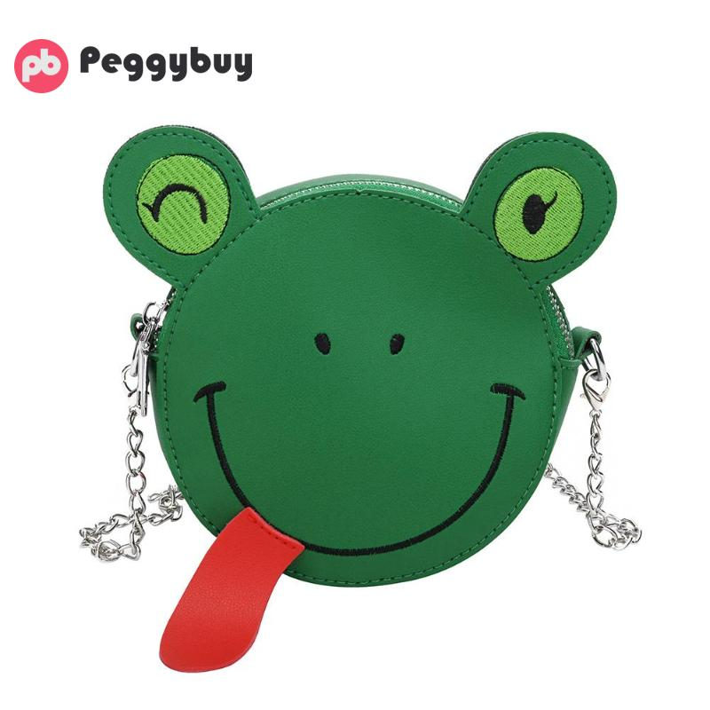 Kinder- & Babytaschen Kinder Handtasche Tier Kette Schulter Tasche Baby Geldbörse Mädchen Leder Taschen