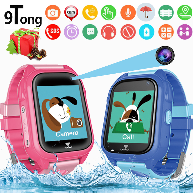 Newest Smart Watch Kids for Children Smart Baby Watch Phone GPS With Camera Waterproof 1.44 inch Touch Screen Real time Location цена
