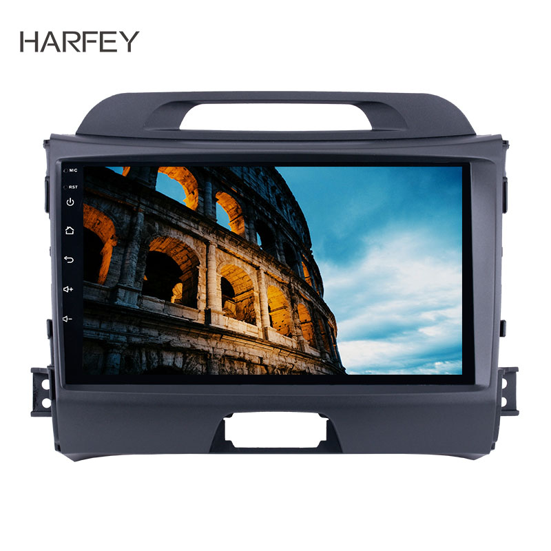 Harfey HD 1024*600 écran tactile Radio Android 8.1 9