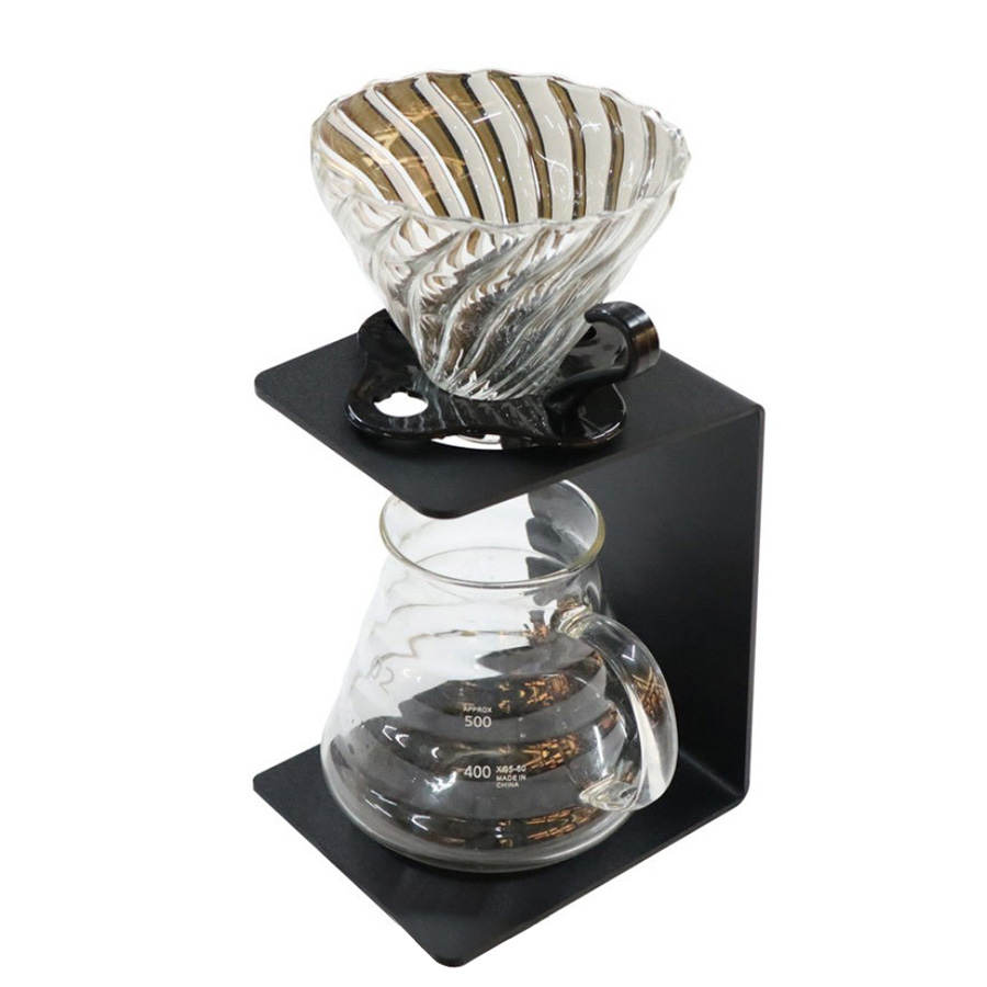 Best Pour The Coffee Rack With The Detachable Coffee Filter Holder | 100% Recyclable, Durable And Easy To Use, Coffee Filter C