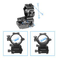Hunting Scopes Mount 25.4mm/30mm Ar15 M4 Tactical Rail Mount Airsoft Ak 47 Dropshipping Windage Adjustable Scope Rings