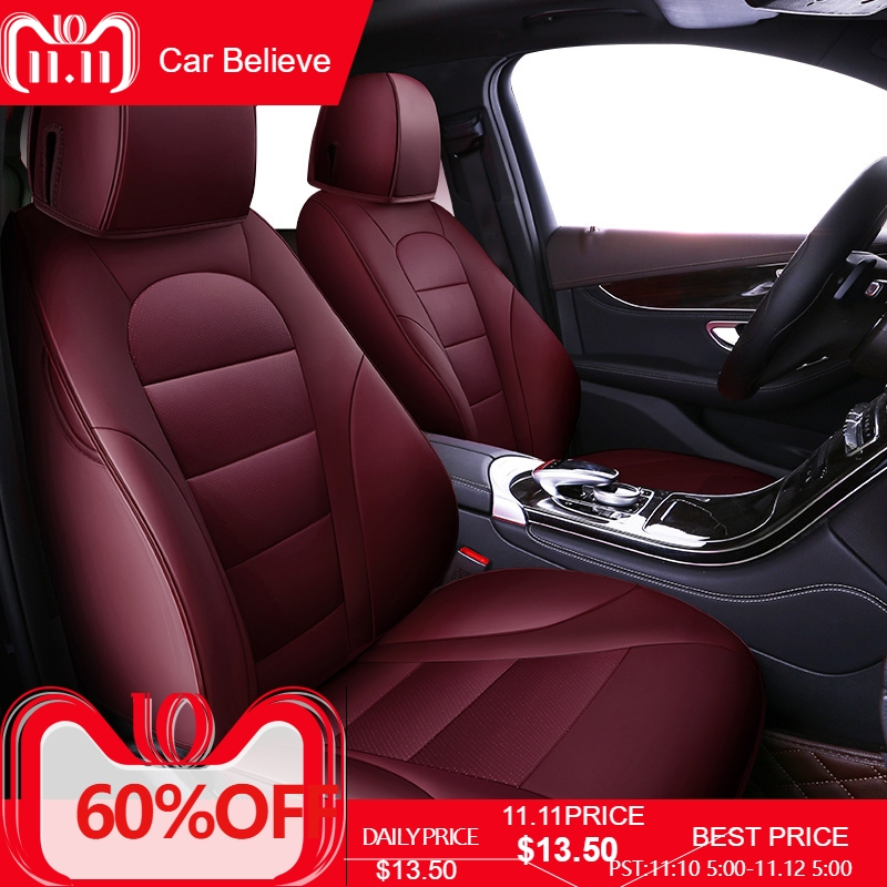 Aliexpress com : Buy Car Believe Auto Leather car seat cover For subaru  forester impreza xv outback accessories covers for vehicle seats from  Reliable