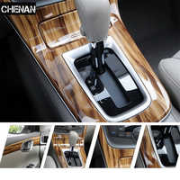 Car Styling 30*200CM PVC Furniture Wood Grain Car Wrap Car Film Internal Stickers Waterproof Self-adhesive Car Sticker