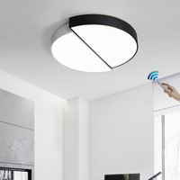 Modern LED Ceiling Light For Living Room Bedroom Kitchen fashion luminaire Home Fixtures Plafon led lamp With Remote Control