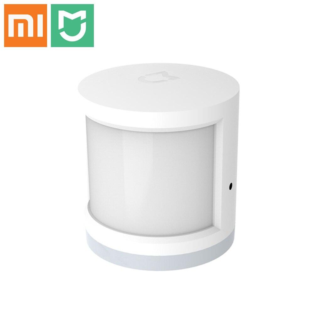 Original Xiaomi Menschlichen Körper Sensor Home Security Mijia Infrarot Smart Körper Bewegung Sensoren Kompatibel Mit Xiaomi Smart-Home-Kits