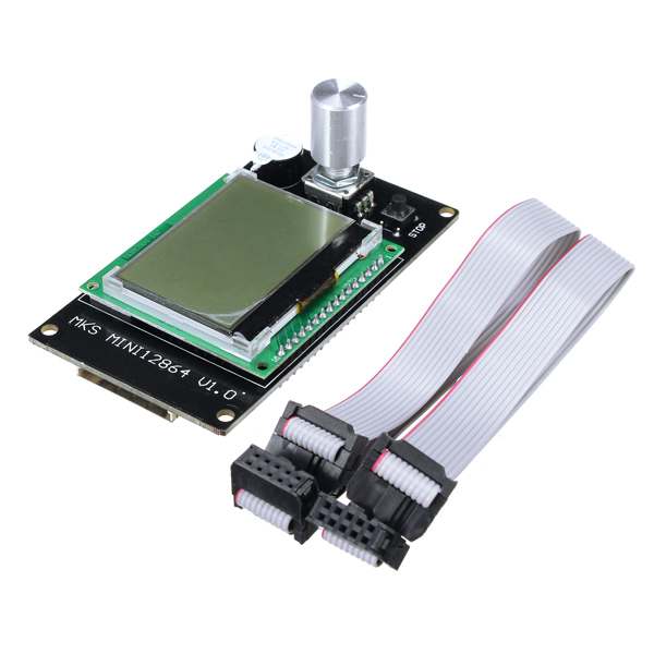 NEW Mini 12864LCD Display Controller Module Side Inserted SD Card For 3D printerNEW Mini 12864LCD Display Controller Module Side Inserted SD Card For 3D printer