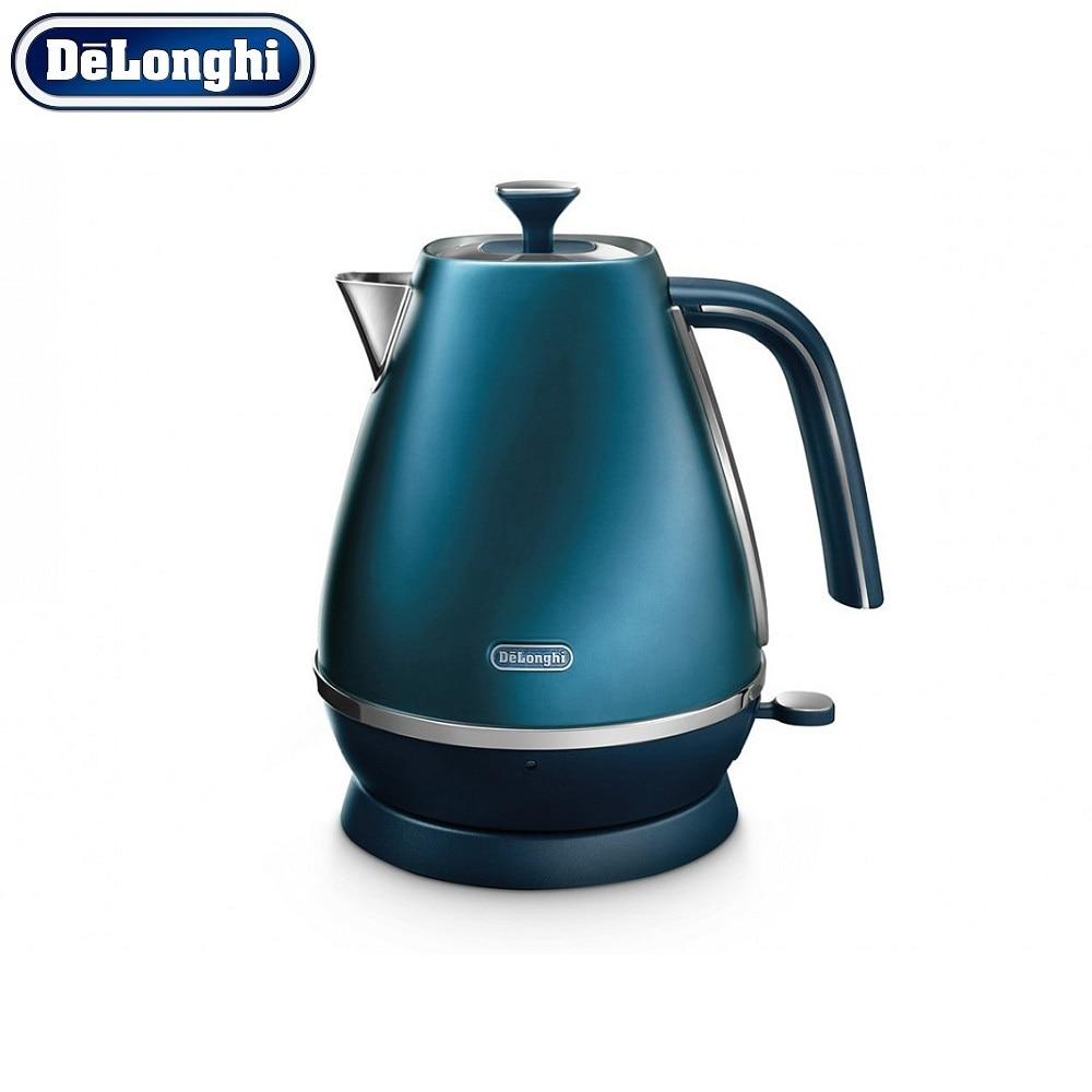 лучшая цена Electric Kettles Delonghi KBI 2001.BL home kitchen appliances kettle make tea
