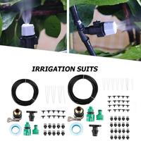 Micro système d'irrigation goutte à goutte | Kits d'arrosage automatique de jardin  tuyau d'arrosage de jardin avec goutteurs de jardin ajustables 10m/15m/20m