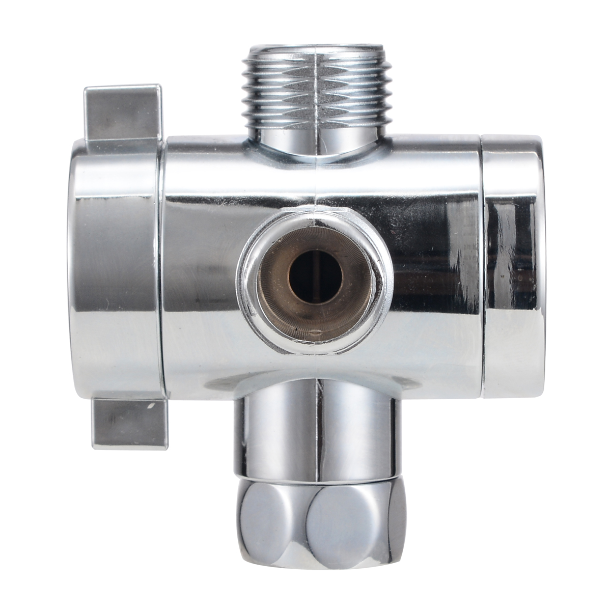 1/2″ T-adapter Bath Adjustable Shower Head Connector Shower Head Diverter Valve For Toilet Bidet Shower Bathroom Tool Part