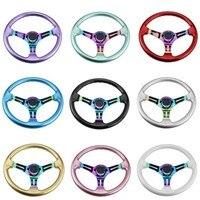 Carro modificado abs corrida volante chapeamento cor suporte carro modificado volante|Volantes e cubos de direção| |  -