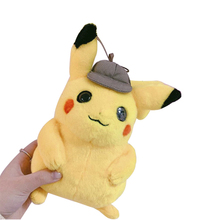 21 Cm And Animation Film Detective Pikachu New Arrival Cute Plush Toys Doll For Children Gift