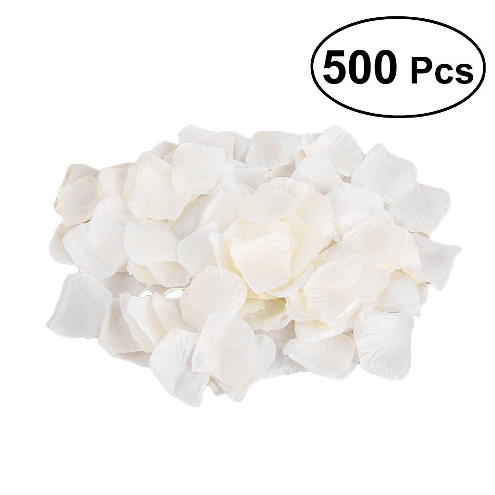 500pcs Artificial Silk Flower Rose Petals For Wedding Party Bridal Events Decoration