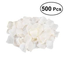 500 шт цветок из искусственного шелка лепестки роз для свадебной вечеринки Свадебные События украшения