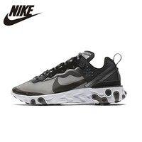 NIKE React Ele Для мужчин t 87 оригинальный Для мужчин s кроссовки сетка дышащий стабильность Поддержка спортивные кроссовки для Мужская обувь