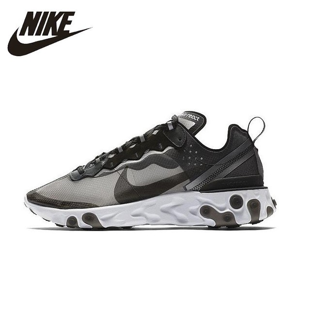 3475fba7c1a5 NIKE React Element 87 Original Mens Running Shoes Mesh Breathable Stability  Support Sports Sneakers For Men Shoes