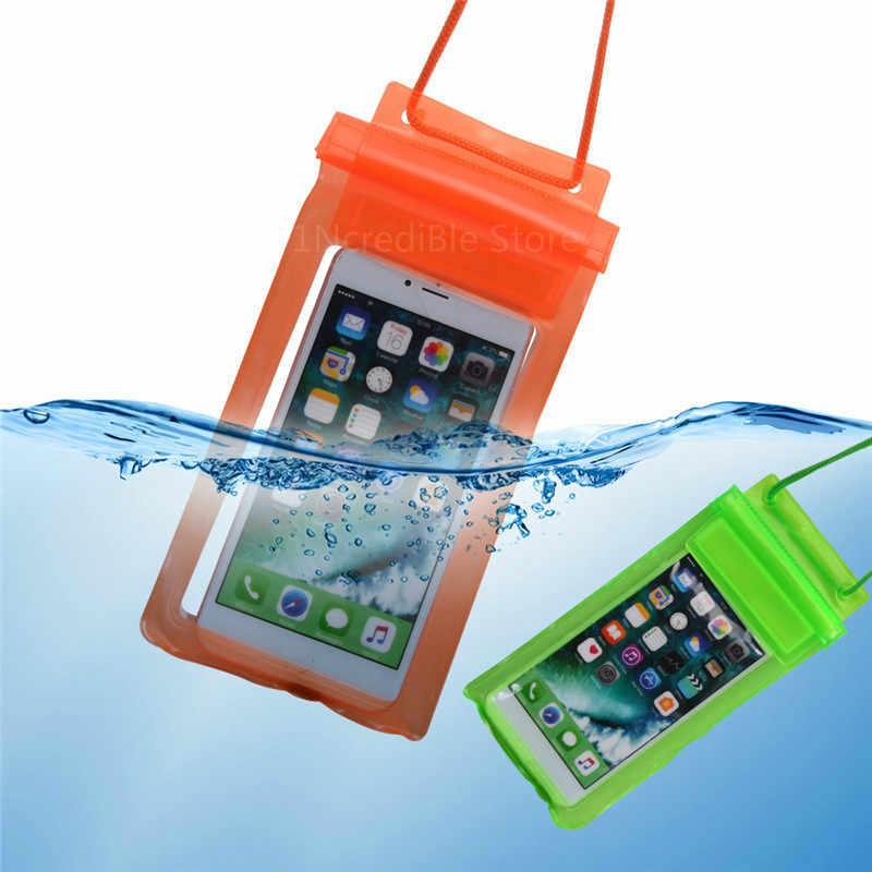 Чехол-накладка для Redmi 6A Водонепроницаемый сумка чехол для iPhone 7 8 X XS Max чехол для Sumsung S8 для Xiaomi 8 A2 Lite чехол для мобильного телефона для плавания чехол
