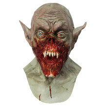 2019 Hot Selling Adult Halloween Latex Devil Ghost Vampire Bloodsucker Mask Props Full Head