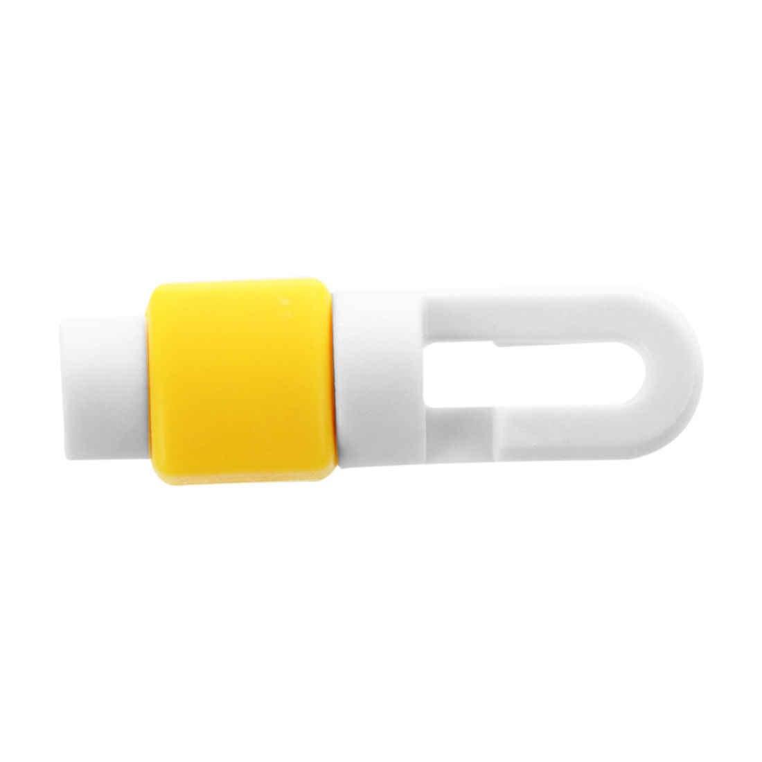 ホット AMS-2pcs シリコーンヘッドフォンケーブルワインダー保護スリーブ Apple の Iphone アプリ