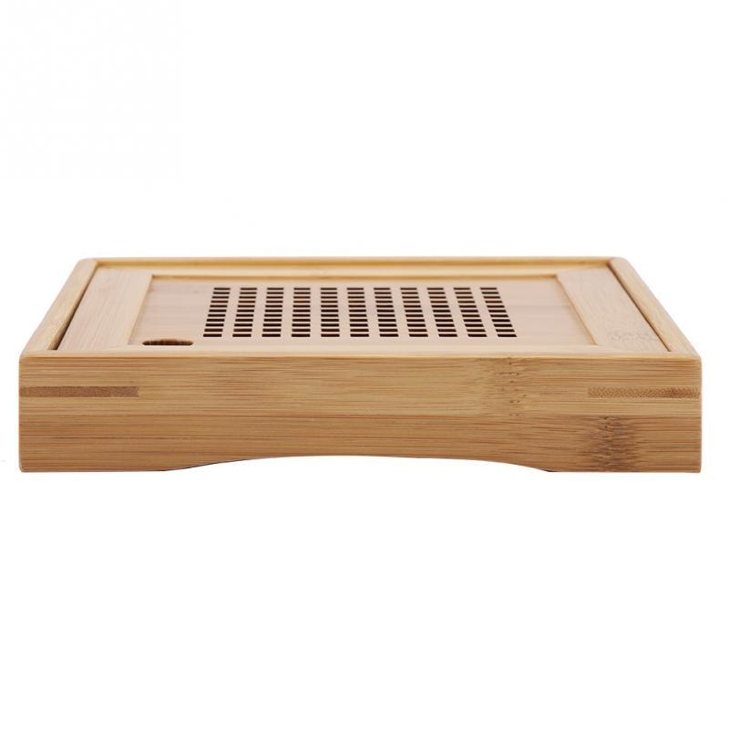 Mini Square Bamboo Tea Tray 4