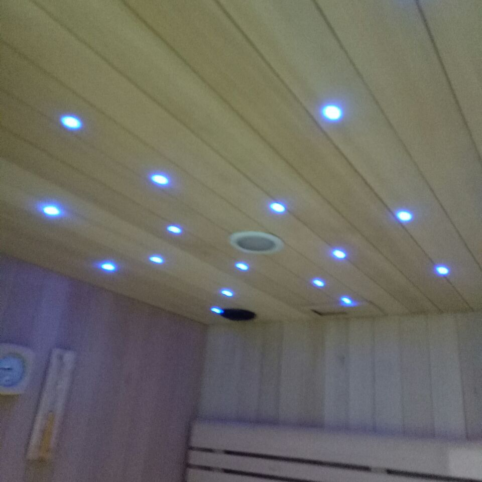 Us 179 0 35pcs Waterproof Recessed Model Led Small Star Light 5w Decorate Bathroom With 2pc Controller And Adapter In Night