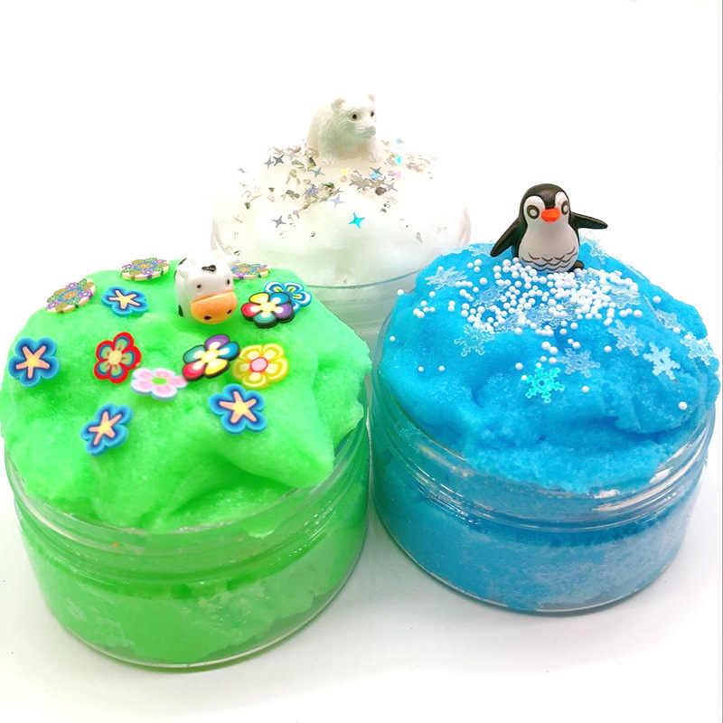 سلك البطريق رسم الطين الجليد والثلج العالم الحيوان ألف الحرير الوحل الضغط البلاستيسين اللعب أفضل بيع البيع المباشر صلصال للتشكيل Aliexpress