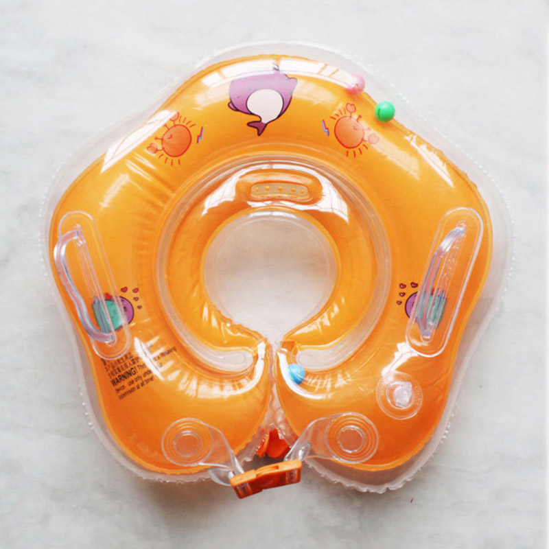 New Baby Swimming Ring Inflatable Infant Floating Kids Swim Pool Accessories Circle Bathing Inflatable Double Raft Rings Toy-5