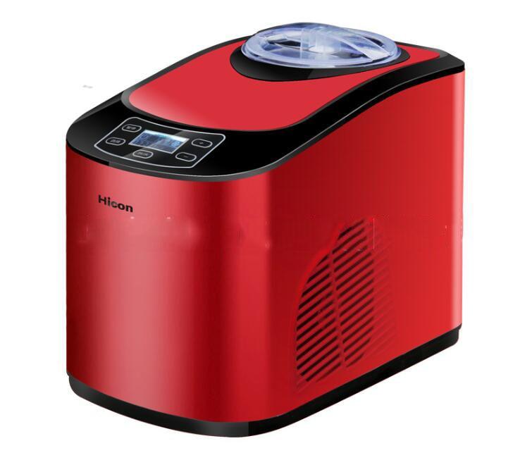 ICM-15A mini máquina de sorvete casa totalmente automático casa inteligente 1.5L Capacidade 140 W Ice Cream Makers ice cream maker