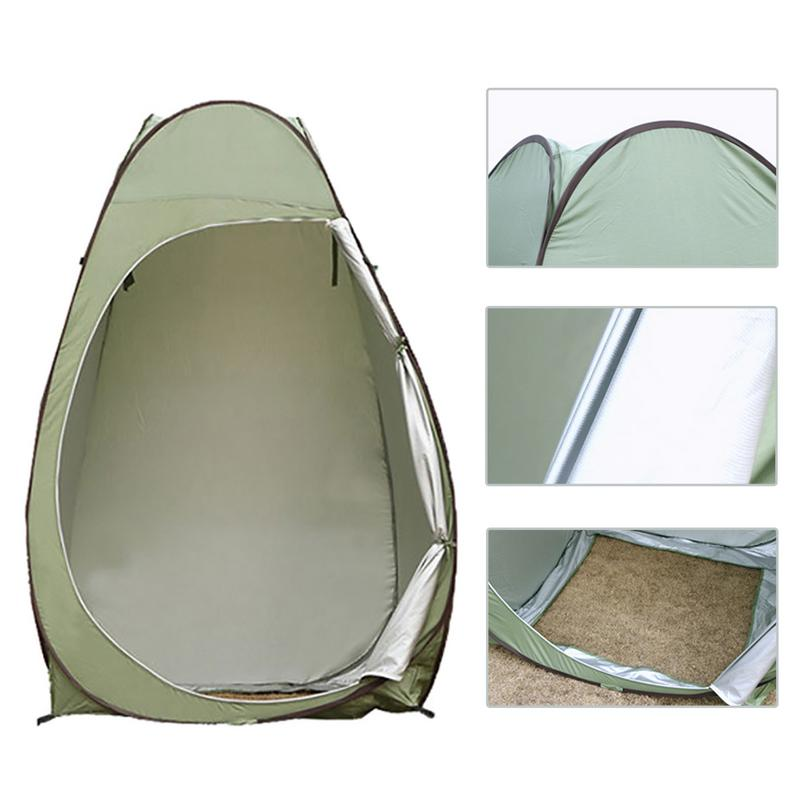 Outdoor Pop-up Dressing Tent Camping Shower Room Bathroom Toilet Privacy Cloakroom Storage Single Mobile Folding TentOutdoor Pop-up Dressing Tent Camping Shower Room Bathroom Toilet Privacy Cloakroom Storage Single Mobile Folding Tent