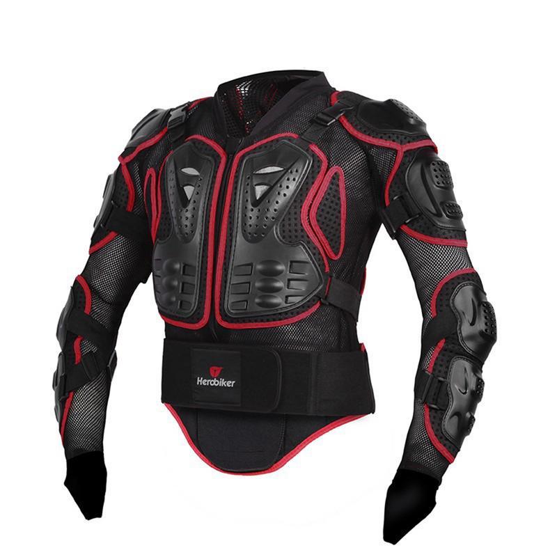 Moto vestes moto armure course corps protecteur veste Motocross moto équipement de protection + cou protecteur